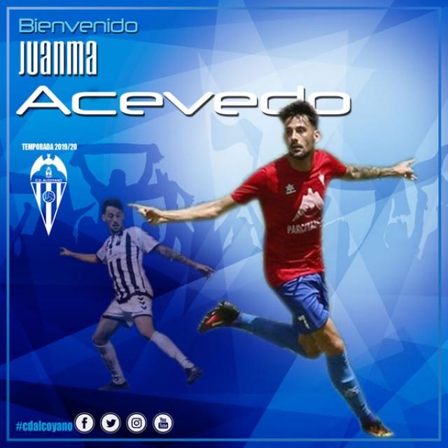 Nueva Incorporación, Juanma Acevedo