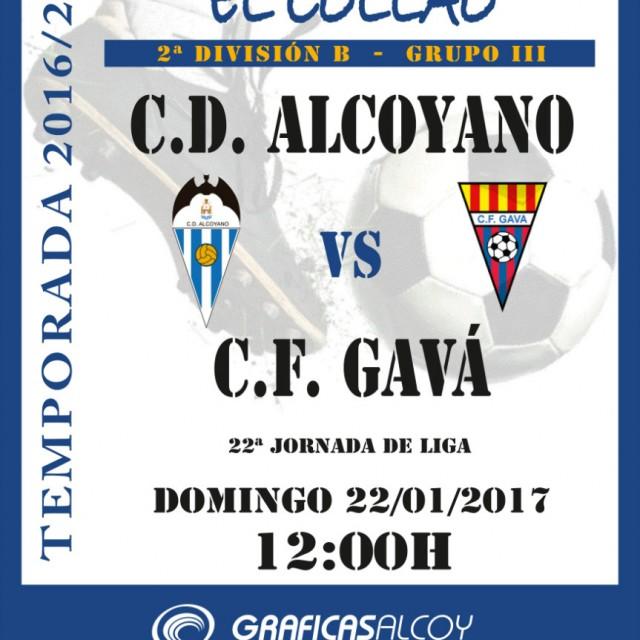 HORARIO CD ALCOYANO-GAVÀ