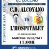 HORARIO CD ALCOYANO-L'HOSPITALET