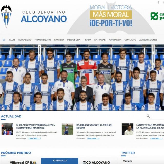 EL CD ALCOYANO ESTRENA WEB