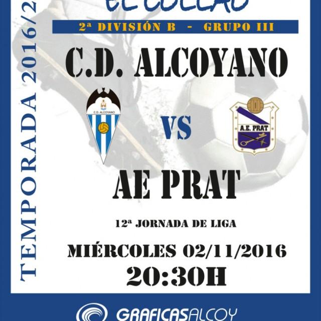HORARIO CD ALCOYANO-AE PRAT