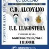 HORARIO CD ALCOYANO-UE LLAGOSTERA