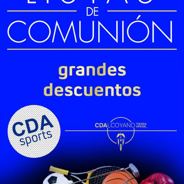 LISTAS DE COMUNIÓN EN LA TIENDA OFICIAL DEL CD ALCOYANO