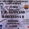HORARIO CD ALCOYANO-BARCELONA B