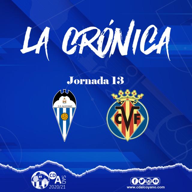 Crónica Jornada 13: Alcoyano 0-2 Villarreal B