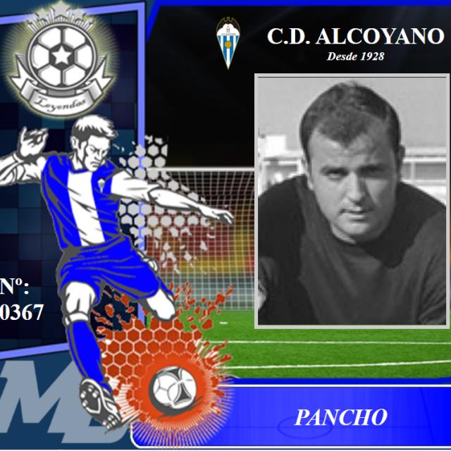Dolor en el Deportivo Alcoyano por el fallecimiento del Mítico PANCHO