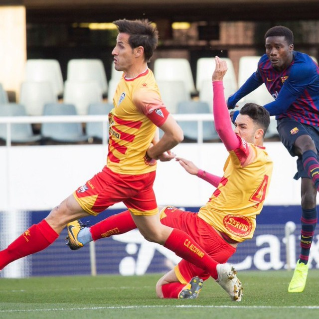 La Crónica. FC Barcelona B vs CD Alcoyano.