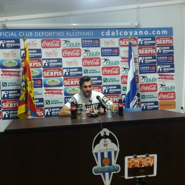 VÍDEO DE LA RUEDA DE PRENSA DE DAVID TORRES (CD ALCOYANO 2-AT.LEVANTE 2)