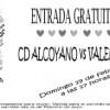 ACCESO GRATIS PARA SEÑORAS EN EL CD ALCOYANO-MESTALLA (CON INVITACIÓN O RETIRANDO ENTRADA GRATUITA EN TAQUILLA)