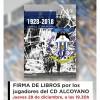 LA PRIMERA PLANTILLA FIRMARÁ LIBROS EN EL CC ALZAMORA
