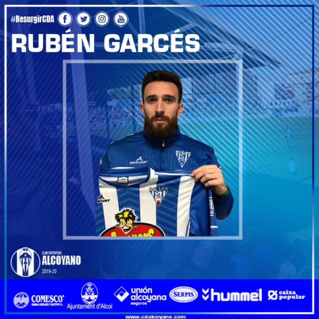 Nueva Incorporación Rubén Garcés