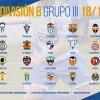 Composición de Equipos del Grupo III para la Temporada 2018-19