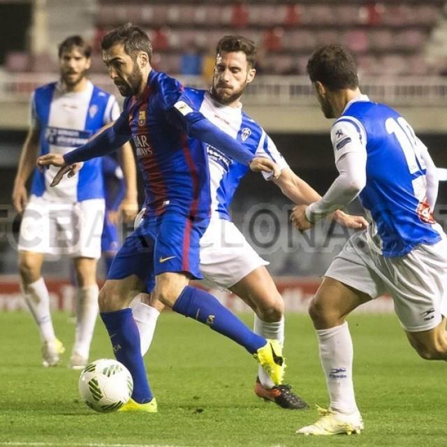 LA CRÓNICA (FC BARCELONA B 1-CD ALCOYANO 1)