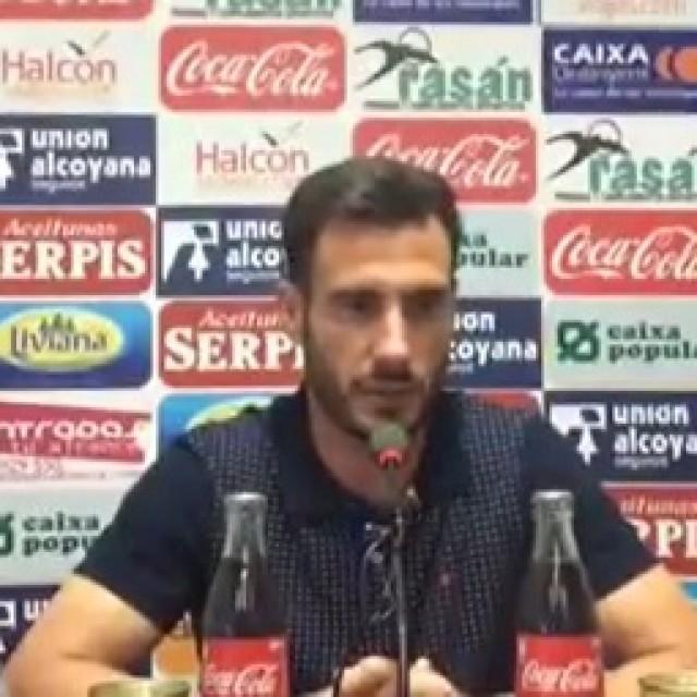 VÍDEO DE LA RUEDA DE PRENSA DE JONY ÑÍGUEZ