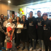 EL CD ALCOYANO COLABORA EN EL HAPPY DAY DE MCDONALD'S ALCOI