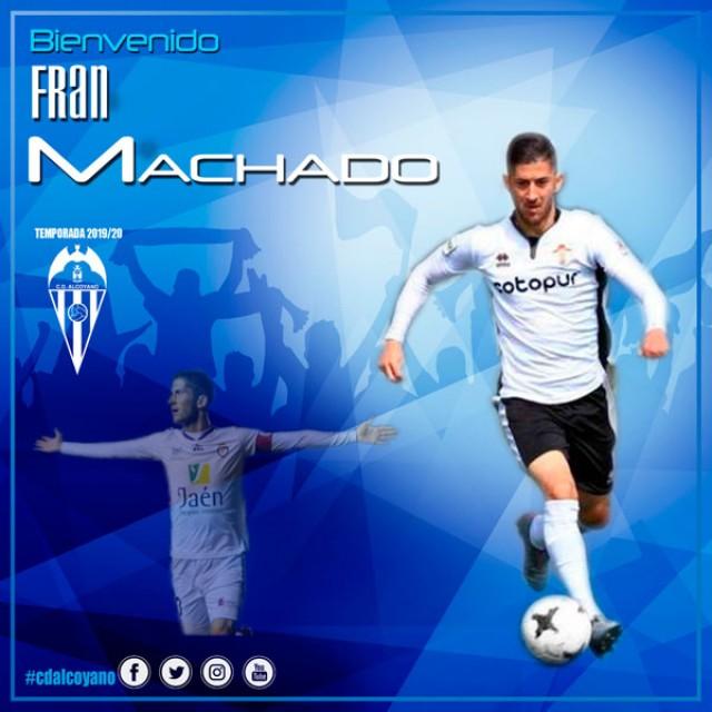 Nueva incorporación, Fran Machado