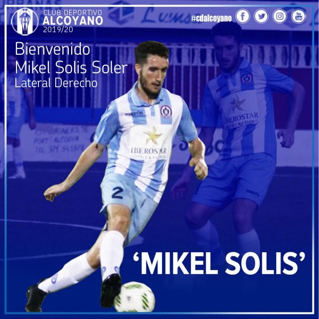 Mikel Solís, nueva incorporación.