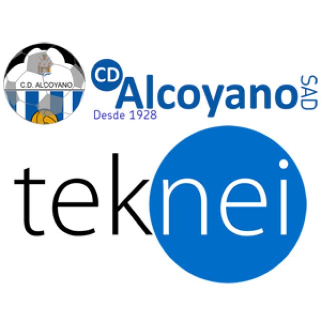 El C.D. ALCOYANO y la compañía tecnológica TEKNEI