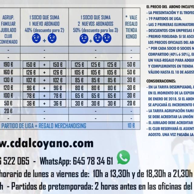 MÁS DE 300 ALCOYANISTAS HAN RETIRADO SU ABONO