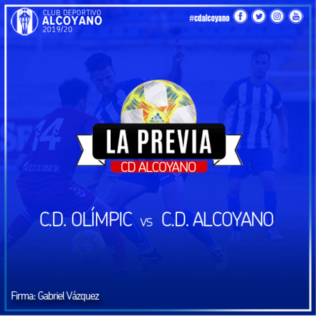Previa de la Jornada 12. CD Olímpic vs CD Alcoyano