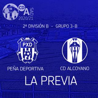 Previa de la Jornada. Peña Deportiva - Alcoyano