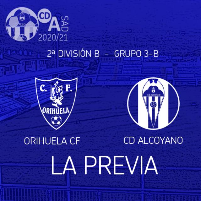 Previa de la Jornada ,  Orihuela CF vs CD Alcoyano