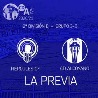 Previa de la Jornada: Hércules CF - CD Alcoyano