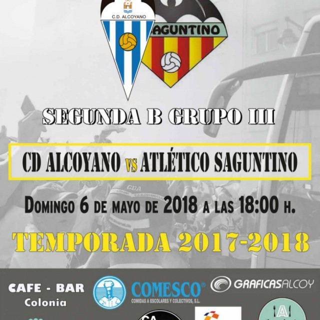 HORARIO OFICIAL CD ALCOYANO-AT. SAGUNTINO