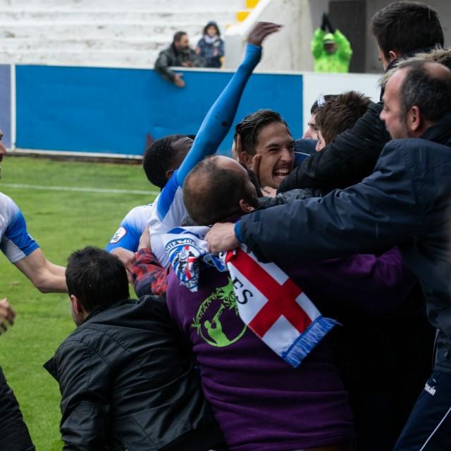 La crónica. C.D. Alcoyano - Lleida Esportiu T.C.F.